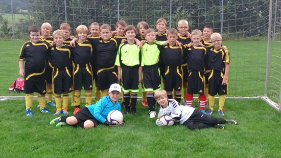 Mannschaftsfoto E Junioren 2014/2015